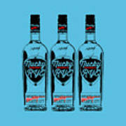 Three Bottles Of Nucky Rye Tee Poster