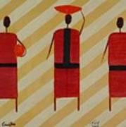 Three Carrier Ladies Poster