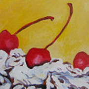 Three Cherries Poster
