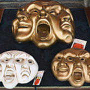 Three Masks For Sale, Venice Poster
