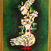 Three Pigeons Poster