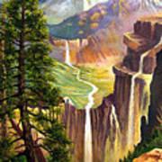 Three Sisters Falls Poster