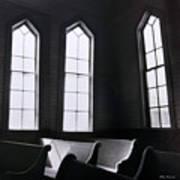 Three Window Church Poster