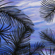 Through The Fronds Poster