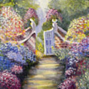 Through The Garden Gate Poster