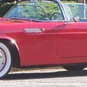 Thunderbird Classic 1955 Poster