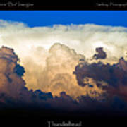 Thunderhead Cloud Color Poster Print Poster