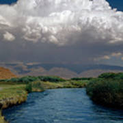 2a6738-thunderhead Over Owens River  Poster