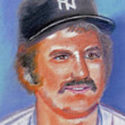 Thurman Munson Poster