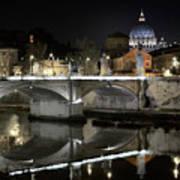 Tiber's Reflection Of Religion Poster
