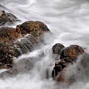 Tidal Wash, Sanna Bay, Scotland Poster
