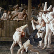 Tiepolo: Acrobats, 18th C Poster
