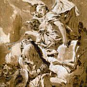 Tiepolo: Saint Jerome Poster