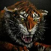 Tiger-1 Original Oil Painting Poster