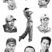 Tiger Woods-murphy Elliott Poster
