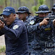 Tigres Commandos Conduct Bounding Poster