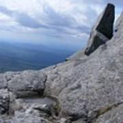 Tilted Rock Poster