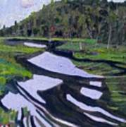 Tim River - Algonquin Poster