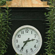 Time In The Garden Poster