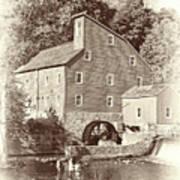 Timeless-clinton Mill N.j.  Poster