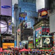 Times Square Poster by Joe Paniccia