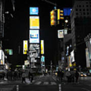 Times Square New York City Big Apple Poster