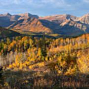 Timpanogos Autumn Sunrise Poster