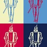 Tin Man Pop Art Poster Poster