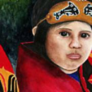 Tinglit Native Girl Poster