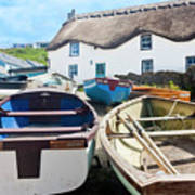 Tinker Taylor Cottage Sennen Cove Cornwall Poster