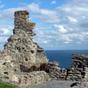 Tintagel Castle 1 Poster