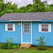 Tiny Blue House Poster