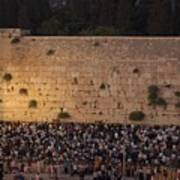 Tisha B'av At The Kotel Poster