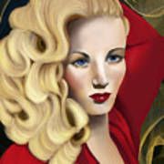 To Veronica Lake Poster