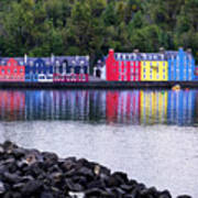 Tobermory Harbor Poster