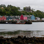 Tobermory Town Cityscape, Isle Of Mull Poster