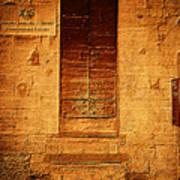 Todi Italy Medieval Door  Poster