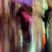 Together Under An Umbrella Poster