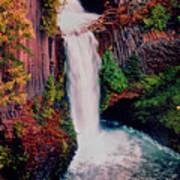 Tokeetee Falls Poster
