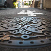 Tokyo Sewer Cover Poster