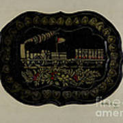 Toleware Tin Tray Poster