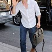 Tom Cruise Carrying A Filson Bag Poster