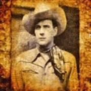 Tom Tyler, Vintage Western Actor Poster