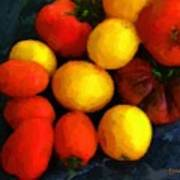 Tomatoes Matisse Poster