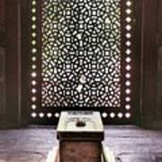 Tomb At The Humayun Temple Complex Poster