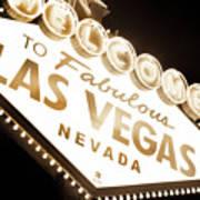 Tonight In Vegas Poster