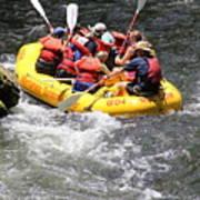 Too Close Rafting Poster