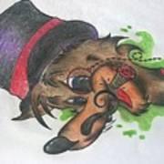 Top Hat Fox Poster