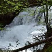 Top Of Clear Creek Falls Poster