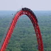 Top Of Intimidator 305 Rollercoaster Poster